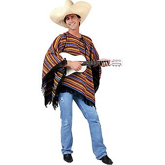 Mexican Poncho Adult