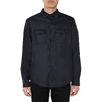 Aspesi I050796196241 Men's Jaqueta Black Nylon Outerwear