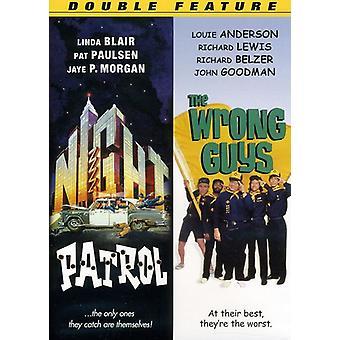 Natt patrulje/den galt gutta [DVD] USA importere