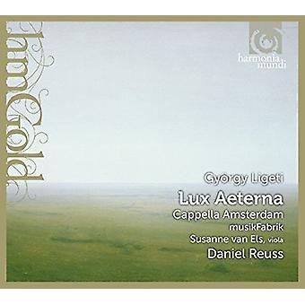 Ligeti / Cappella Amsterdam - Lux Aeterna [CD] USA import