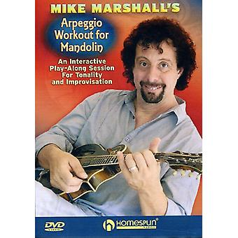 Mike Marchall - Arpeggio Workout for Mandolin [DVD] USA import