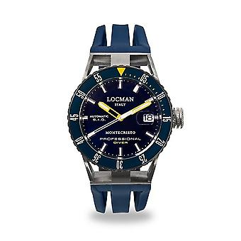 Locman - Wristwatch - Men - MONTE CHRISTO - 051300BYBLNKSIB
