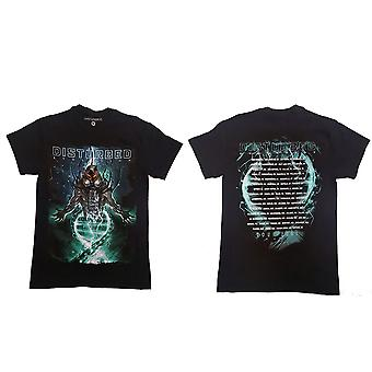 Disturbed Evolve Dateback Official Tee T-Shirt Mens Unisex