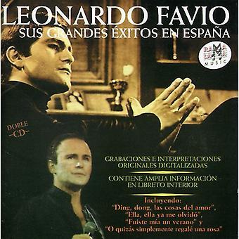 Leonardo Favio - Sus Grandes Exitos En Espana [CD] USA import