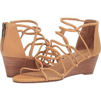 Lucky Brand Women's JILSES Wedge Sandal, Light Desert, 5.5 M EUA