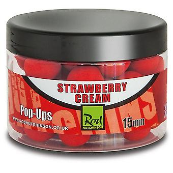 R Hutchinson Pop Ups 15mm Strawberry Cream Natural
