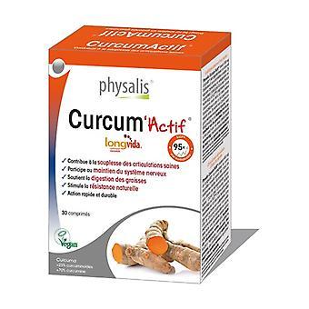 Actieve Curcum 30-tabletten