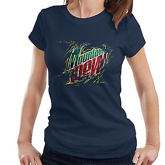 Mountain Dew Prism Design Women's T-Shirt