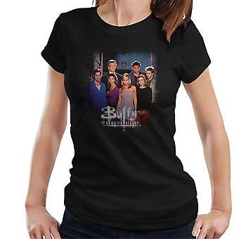 Buffy The Vampire Slayer Gang Women's T-Shirt
