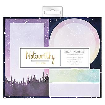 Noteworthy Constellations Sticky Notes Set