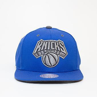 Mitchell & Ness Nba New York Knicks Blue Snapback Cap