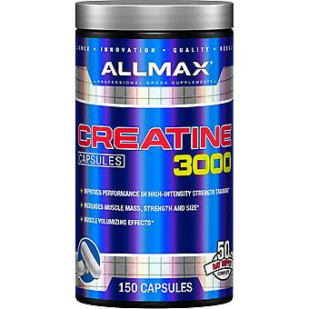 ALLMAX Nutrition, Creatine 3000, 3,000 mg, 150 Capsules