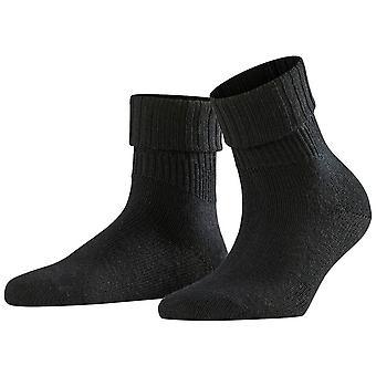 Falke Striggings Rib Socks - Black