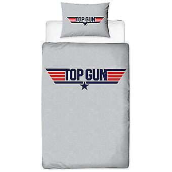 Top Gun Logo Single Dekbed Cover en pillowcase set