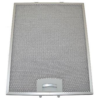 Univerzálny digestor Strieškový kovový mazivo filter 311mm x 250mm