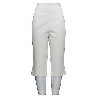 Joan Rivers Femmes-apos;s Pantalon Signature Pull-On Capri Pantalon Blanc A303907