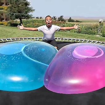 Bola de globo de agua inflable 1.2m, super-grande Tpr Bubble Ball Sin Aire
