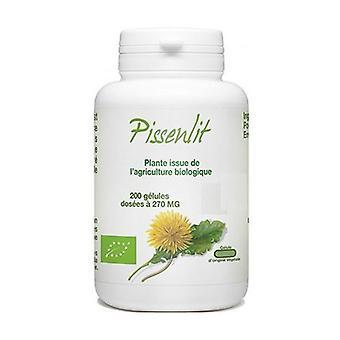 Pissenlit organische wortel 200 capsules van 270mg