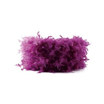 Feather Shade Aubergine 330mm x 200mm