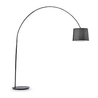 Ideale Lux Dorsale - 1 lampada da pavimento chiaro nero, E27