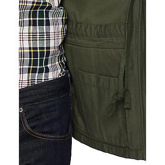 Goodthreads Men&s 4-kieszonkowa kurtka wojskowa, głęboka głębokość/oliwka, X-Large