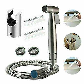 Roestvrij staal-handheld Toilet Sproeier Set