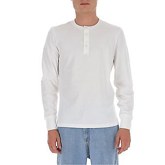 Tom Ford Bv402tfj958n00 Men's White Cotton T-shirt