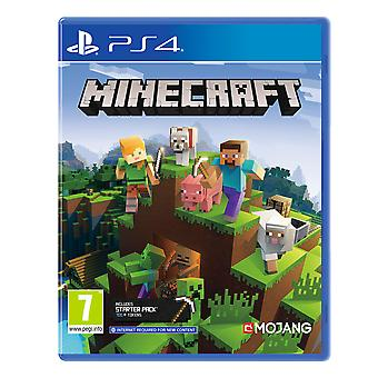 Minecraft Bedrock Edition PS4 Game