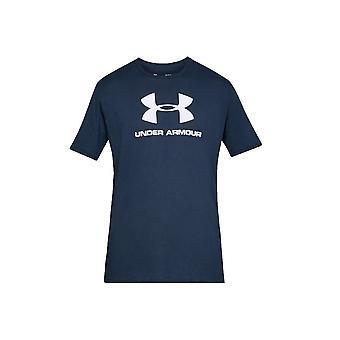 アンダーアーマー スポーツスタイル ロゴ ティー 1329590408 ユニバーサル オールイヤー メンズ Tシャツ
