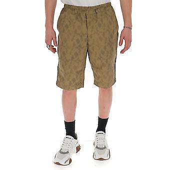 Comme Des Garçons Shirt S281352 Men's Beige Polyester Shorts