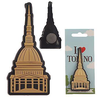 Novelty PVC Magnet - Torino Mole X 1 Pack