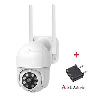 Smart Outdoor Ip Camera Cu 1080p Ptz, Rotiți Wifi Webcam