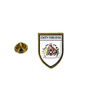 pine pine pine badge pine pin-apos;s souvenir city flag country coat of arms south yorkshire A