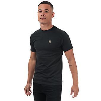 Men's Luke 1977 Trouser Tape T-Shirt in Black