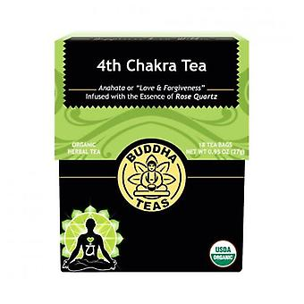 Buddha Teas Organic 4th Chakra Tea, Heart 18 Bags