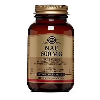 Solgar NAC, 600 mgs, 60 V Caps