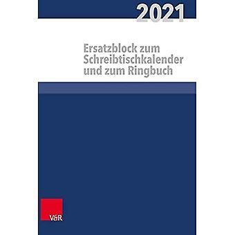 Kalender bont alle im kirchlichen Dienst Ersatzblock: 2021