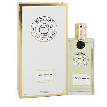 Rose Pivoine Eau De Toilette Spray By Nicolai 3.4 oz Eau De Toilette Spray