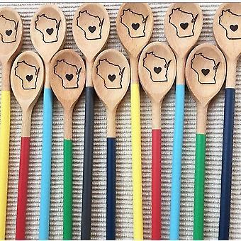 Lingură de stat din lemn