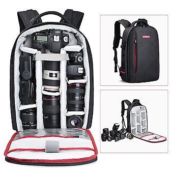 Beschoi dslr kamera rygsæk vandtæt kamera taske til Sony Canon Nikon Olympus SLR / DSLR kamera, len