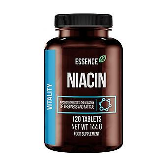 Niacin 120 tablets of 500mg