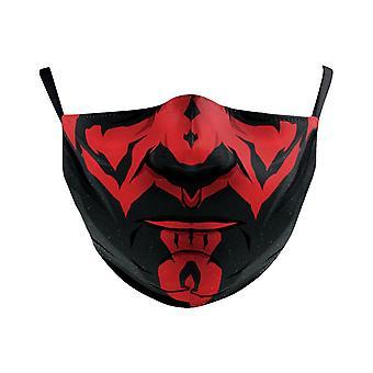 Darth Vader Boba, Máscara facial Cosplay - Adulto a prueba de polvo, Niños