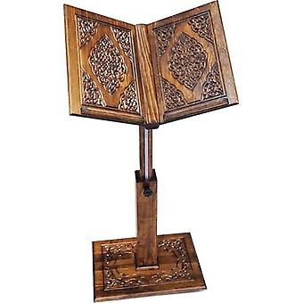 Wood Lectern With Lift Hand Carved Solid Wood Height 93 Cm