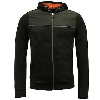 Sergio Tacchini Iraklen Zip Up Mens Track Top Jacket Svart 37680 171 A51A