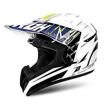 Airoh Switch Motorcycle Helmet Replacement Peak Startruck Yellow PEAK ONLY