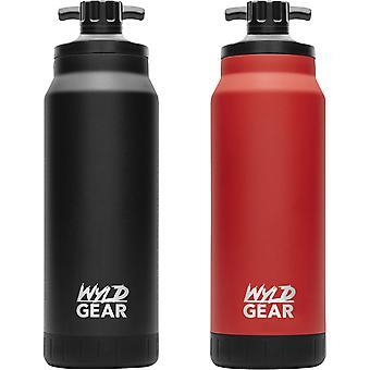 Wyld Gear Mag Series 34 oz. Botella de agua de acero inoxidable con aislamiento al vacío