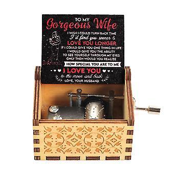 Antiikki veistetty, Käsikampi, Puinen laatikko