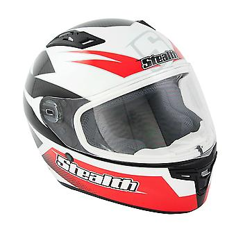 Stealth HD117 GP Replica Adult Full Face Helmet - Red