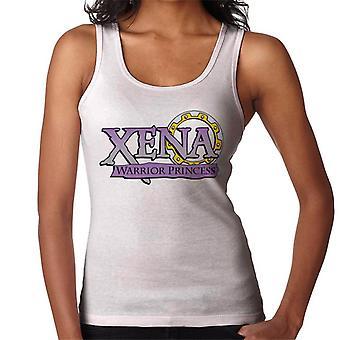 Xena Warrior Princess Lila Gradient Logo Kvinnor's Väst