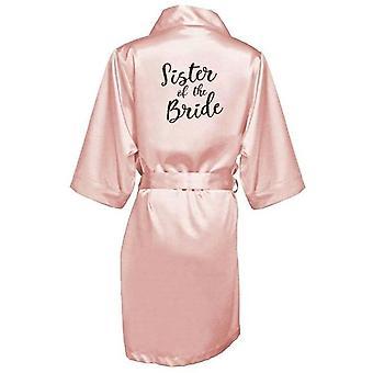 Robes de demoiselle d'honneur d'impression de mariée